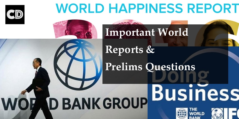Important World Reports & their Organisations | Important