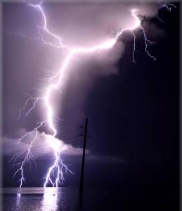 lightning Florida Keys