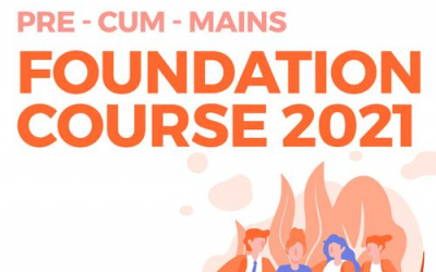 Foundation 2021: Pre cum Mains