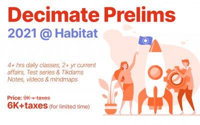 Decimate Prelims 2021