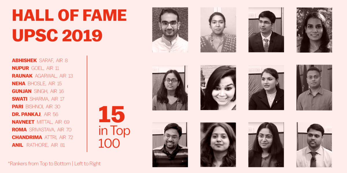 Civilsdaily toppers IAS 2019