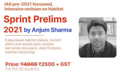 Sprint Prelims 2021 by Anjum sir