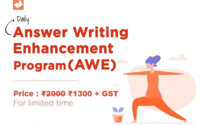 Daily Answer Writing Enhancement Program (AWE)_August
