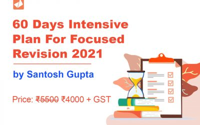 60 Days Intensive Plan For Focused Revision 2021